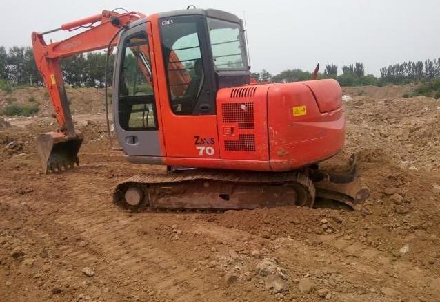 日立ZAX70小挖掘機構成