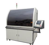 天津繃網機廠家分享絲網印刷機印刷時出現氣泡的解決辦法