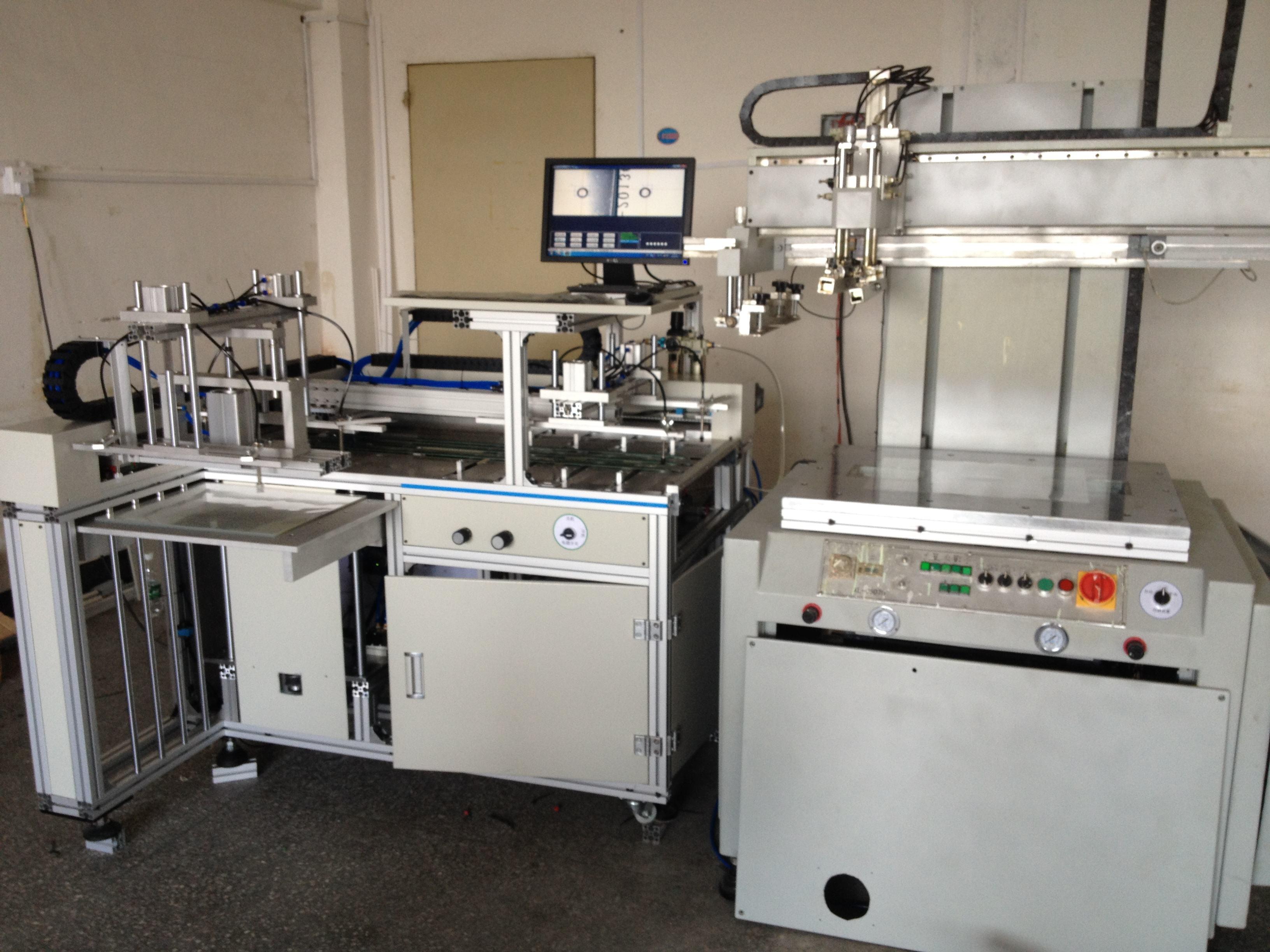 塑料制品絲網印刷機的工藝流程你都了解了嗎